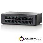 SF100D-16P-EU Неуправляемый Коммутатор (свитч) Cisco Small Business 100